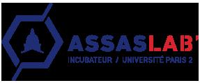 Logo footer Assas Lab Incubateur univesité Paris 2