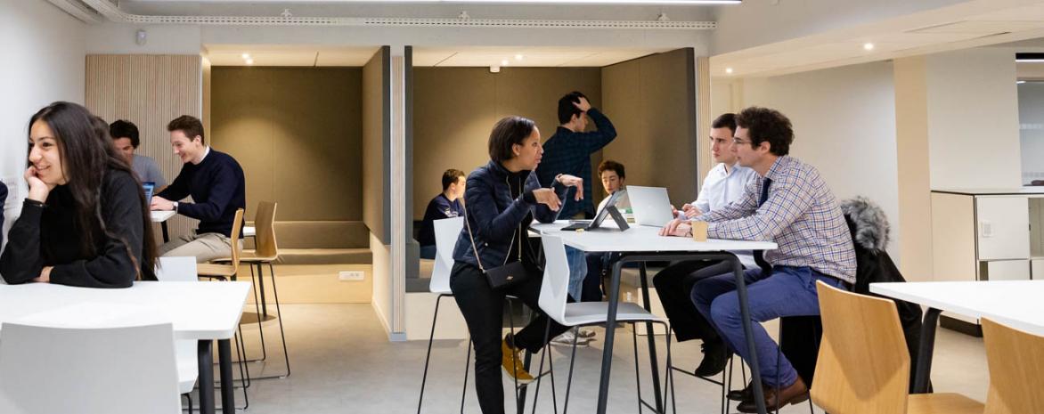 Équipe d'Assas Lab', incubateur de l'université Paris 2